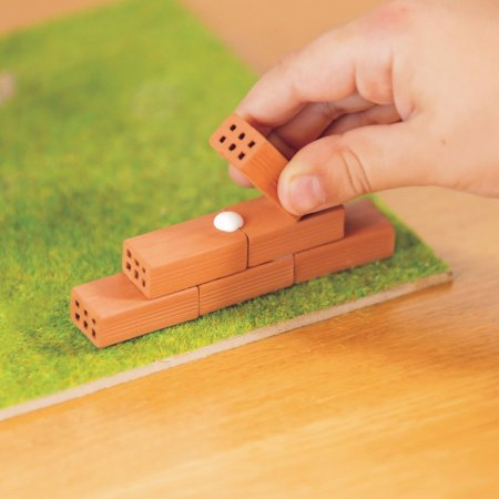 Trefl Brick Trick - Stavějte z cihel - Chaloupka/Chata