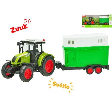 Mikro trading Traktor s přepravníkem