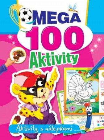 Teddies Mega aktivity s nálepkami 100 - Tygr - CZ verze