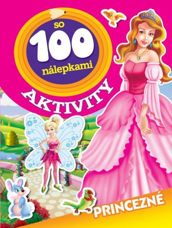 Teddies Aktivity - Princezny se 100 samolepkami - SK verze