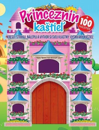 Teddies Kniha aktivít - Princeznin kaštieľ - Kresli, strihaj, nalepuj a vytvor si svoj vlastný, vysnívaný kaštieľ - SK verzia