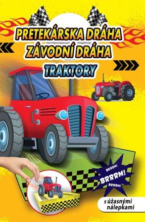 Teddies Pretekárská dráha / Závodní dráha - Traktory - SK verzia / CZ verze