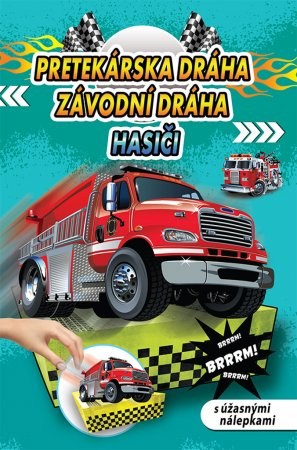 Teddies Pretekárská dráha / Závodní dráha - Hasiči - SK verzia / CZ verze