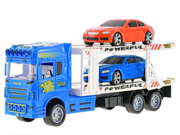 Mikro trading Auto přepravní  - 32 cm - modrá