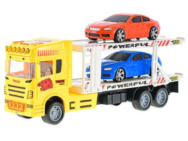 Mikro trading Auto přepravní - 32 cm - žlutá
