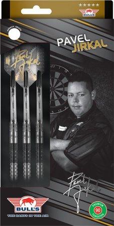 Bull's NL Šipky Steel Pavel Jirkal - Black - 21g