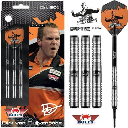 Bull's NL Šipky Dirk van Duijvenbode - 18g
