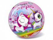 Mikro trading Magic Unicorn - Míč - 23 cm