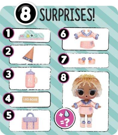 MGA L.O.L. Surprise! Párty panenka Deluxe, PDQ, vlna 2