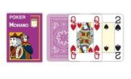 Modiano Texas Poker Size - 4 Jumbo Index - Profi plastové karty - fialová