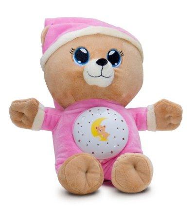 Teddies Medvídek Usínáček - růžový
