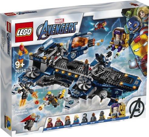 LEGO Marvel Avengers 76153 - Helicarrier Avengerů