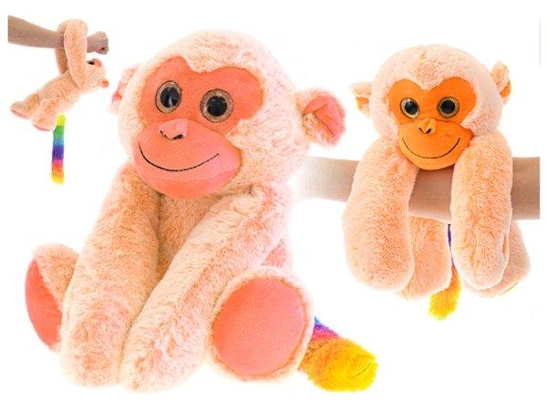 Mikro trading Opice plyšová  visící na ruku - 25 cm