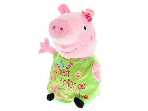 Mikro trading Peppa Pig Happy Oink - Prasátko plyšové - 30 cm