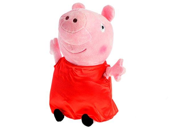 Mikro trading Peppa Pig - Pepina plyšová - 20 cm