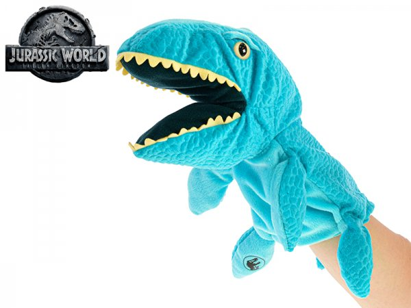 Mikro trading Jurský svět - Mosasaurus plyšový maňásek - 25 cm