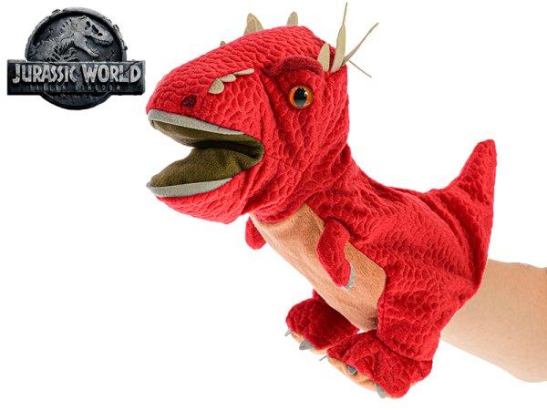 Mikro trading Jurský svět - Stygimoloch plyšový maňásek - 25 cm