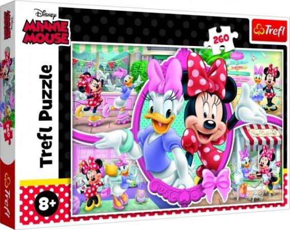 Trefl Puzzle - Minnie a Daisy/Disney - 260 dílků