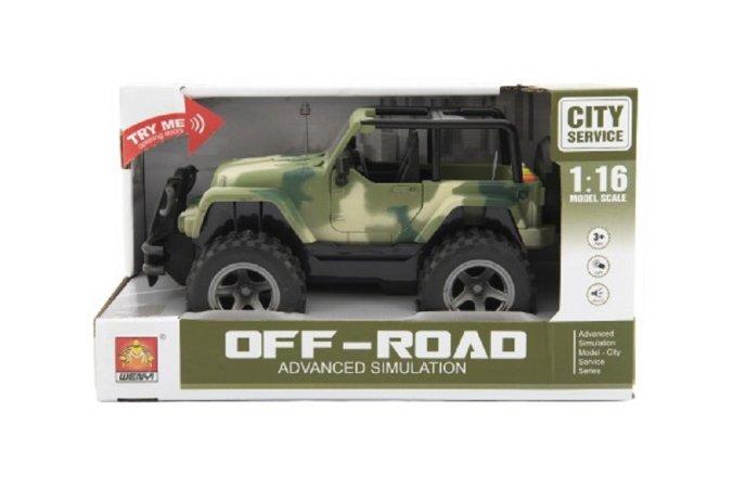 Teddies Auto terénní Off-Road - 23 cm