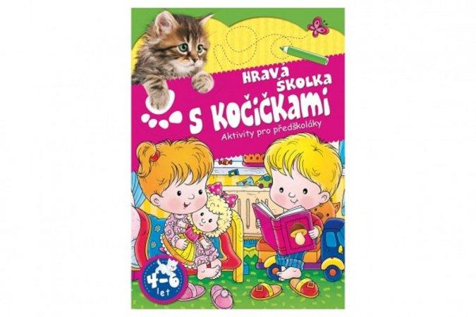 Teddies Pracovní sešit - Hravá školka s kočičkami - CZ verze