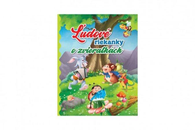 Teddies Kniha - Ľudové riekanky o zvieratkách - SK verze