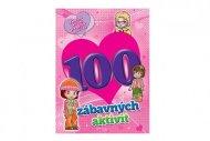 Teddies Pracovní sešit 100 zábavných aktivit - dívky