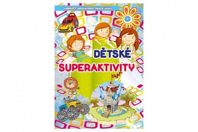 Teddies Knížka - Dětské super aktivity - CZ verze
