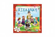 Teddies Puzzle kniha - Riekanky - 6 x 9 dielikov - SK verze