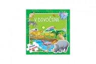 Teddies Puzzle kniha - V divočine - 6 x 9 dielikov - SK verze