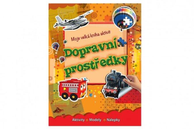 Teddies Moje velká kniha aktivit - Dopravní prostředky - CZ verze