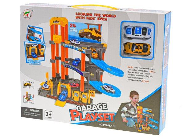 Mikro trading Parkovací garáž s výtahem