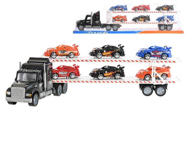 Mikro trading Auto přepravní - 56 cm - černá