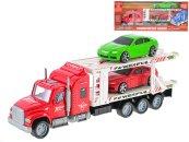 Mikro trading Auto přepravní  - 36 cm - červená