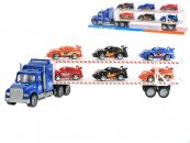 Mikro trading Auto přepravní - 56 cm - modrá