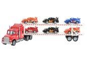 Mikro trading Auto přepravní - 56 cm - červená
