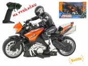 Mikro trading RC motorka s jezdcem - 26 cm