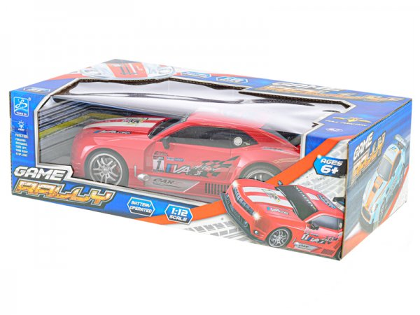 Mikro trading RC auto sportovní - 32 cm - červená