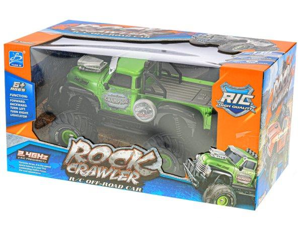 Mikro trading RC auto terénní - 23 cm - zelená