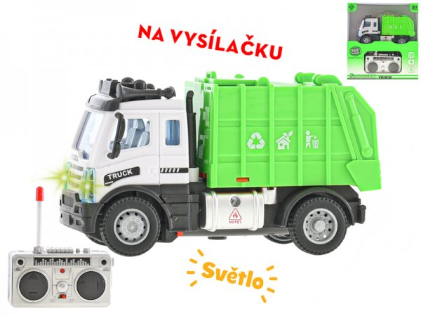 Mikro trading RC auto popelářské - 13 cm