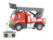 Mikro trading RC auto hasičské se žebříkem - 13 cm