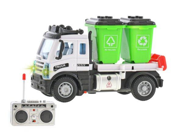 Mikro trading RC auto úklidové s popelnicemi - 12 cm