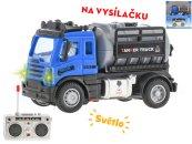 Mikro trading RC auto nákladní cisterna - 12 cm