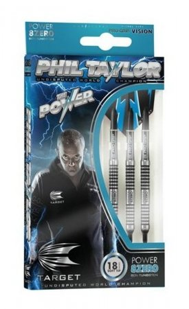 Target - darts Šipky Power 8Zero - Phil Taylor - 18g