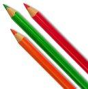 PRIMO JUMBO TRIS Pastelky trojboké - 12 barev a 2 ks ořezávátek