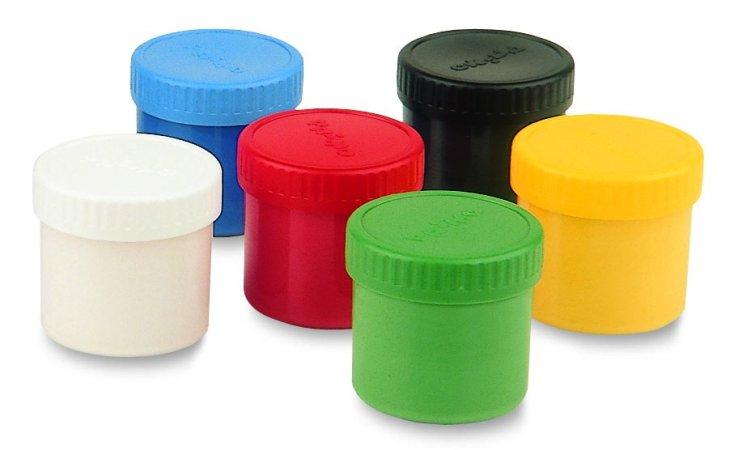 PRIMO Prstové barvy - 6 barev