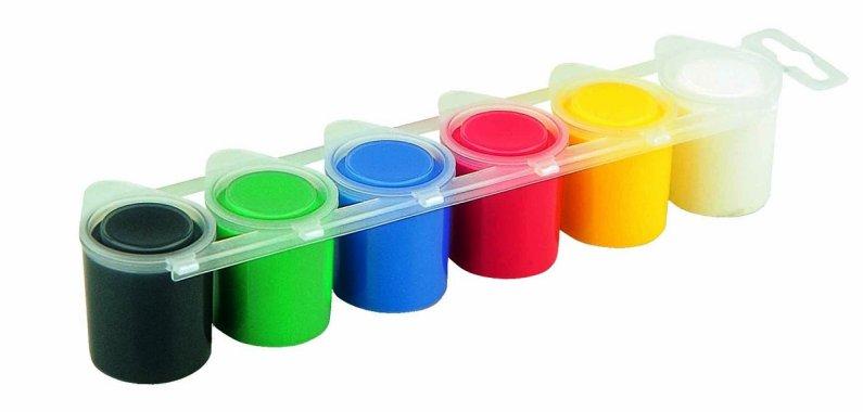 PRIMO Temperové barvy - 6 barev