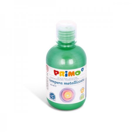 PRIMO METALLIC Temperová barva - 300 ml - zelená