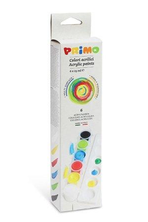 PRIMO Akrylové barvy - 6 x 25 ml
