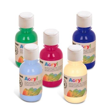 PRIMO Akrylová barva - 125 ml - bílá