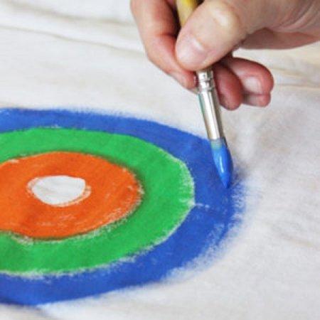 PRIMO Barva na textil - 125 ml - bílá
